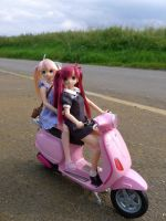 40 mph on an open country road by LittlestSweetShop