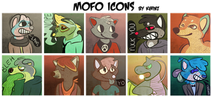Mofo icons by n-oodle