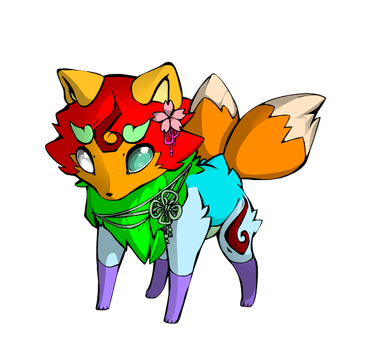 52 points Fox Adoptable (OPEN) by MLPFIMFans2006