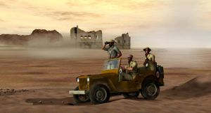 The desert patrol by caastel