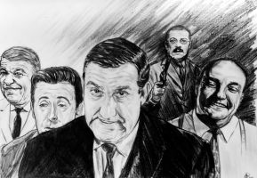 Les Tontons flingueurs  Happy beurzday to you... by FDupain