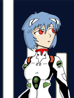 Rei Ayanami by JohnnyFive81