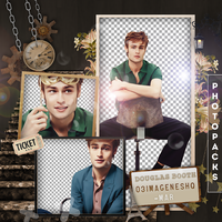 +Photopack png de Douglas Booth. by MarEditions1
