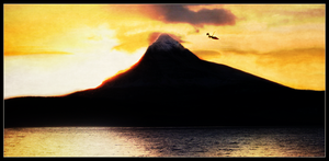 The Hobbit: Erebor at Sunrise by LadyElleth