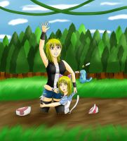 Trainer Quicksand Wants to Battle! :3 by Lady-of-Mud