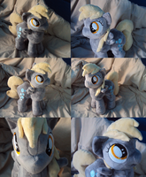 Filly Derpy Plush by Azedo