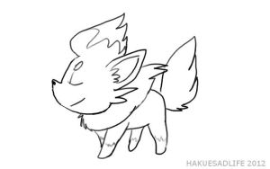 Zoura Lineart by Hakues-sparkle-dream