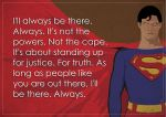 Superman Will Be There by KlutzyDuck