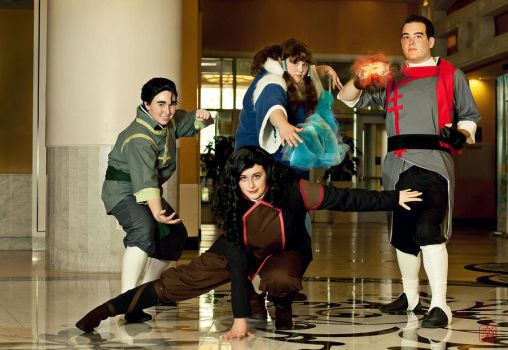 Bolin-- TEAM AVATAR ASSEMBLE by angrygingermidget