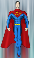 Superman Redesign by payno0