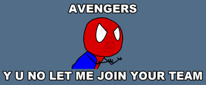 Spiderman's reaction to the Avengers movie by ErichGrooms3