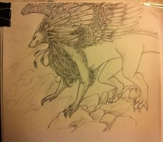 Feathered Dragon ~WIP~ by hyucaze