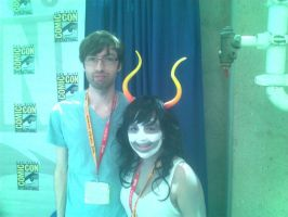 Comic Con!~ Andrew Hussie by Alex1210