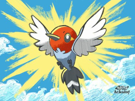 Proud Fletchling, made on Pokemon Academy by marianne41