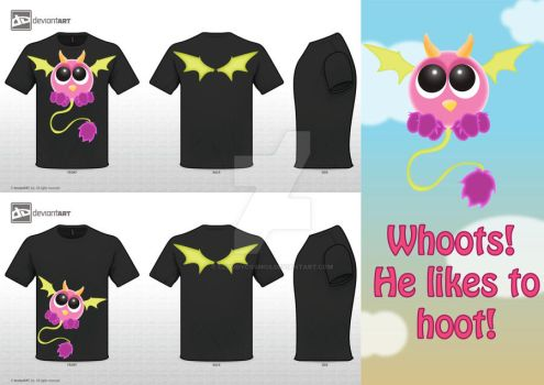Whoots is on a T-Shirt by CloudyCosmos