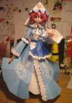 Yuyuko Papercraft by Rika-strife