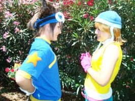 Digimon- Flowers for You by Ryoko-and-Yami