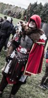 assassin's creed Brutus Romulus armor cosplay by micizio