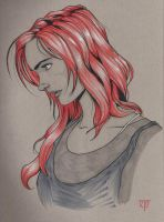 Red Head by Rorus007