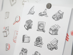 Mac App Icon Sketching by Ramotion
