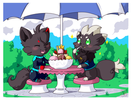 Commission .: A nice day :. by Icandoittoo