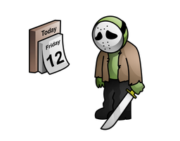 Friday the 13th Fail by Deslaias