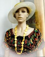 Old timer - Yellow mannequin Lusty close-up series by Rikitza