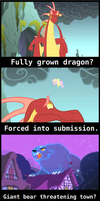 How ponies deal with... [screenshot comic] by UltraTheHedgetoaster