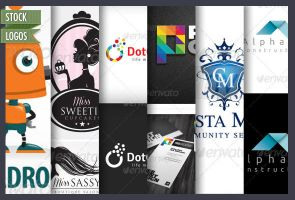 21 Affordable Stock Logo Templates by CursiveQ-Designs