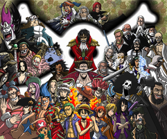 TSoutherland One Piece Tribute by TSoutherland