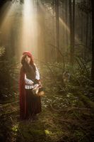 little red riding hood by last1dogdemon