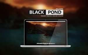 Black Pond Wallpaper by Martz90