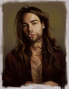 Study: Male Portrait by DM7