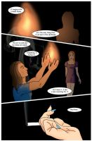 The Flame: Page One-Take 2 by Kensadi