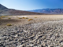 Death Valley: Salt Flats II by j-ouroboros