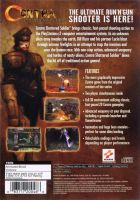 Contra: Shattered Soldier Back Cover by derrickthebarbaric