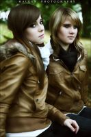 Michelle and Tabea I by Alexxchen