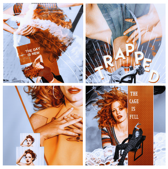 Jessica Chastain Icon Pack by monasam