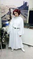 Leia Organa by Thecrystalshoe