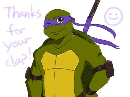 Clap your hands2 +Donatello+ by roy-tailor