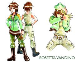CR CCXII Rosetta Vandino by PeaceGuy