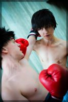 Miyata vs. Ippo- Counter by twinfools