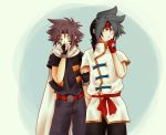 KaiRei: 06 - Wearing eachothers' clothes by prongsie