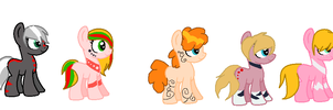 Foals done by Shadowbane-kimikaro