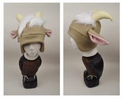 Goat Hat by Mermade4u