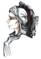 Profile- Quirrell- Coloured by Seraphim-burning