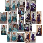 Elsa Regal and Anna Casual Summer Cosplay Costumes by SetsunaKou