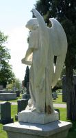 Mount Olivet Cemetery Archangel Uriel 70 by Falln-Stock