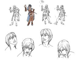 Siela Character Sheet wip by AnimeMan90