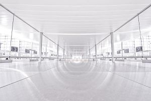 airport symmetry by herbstkind